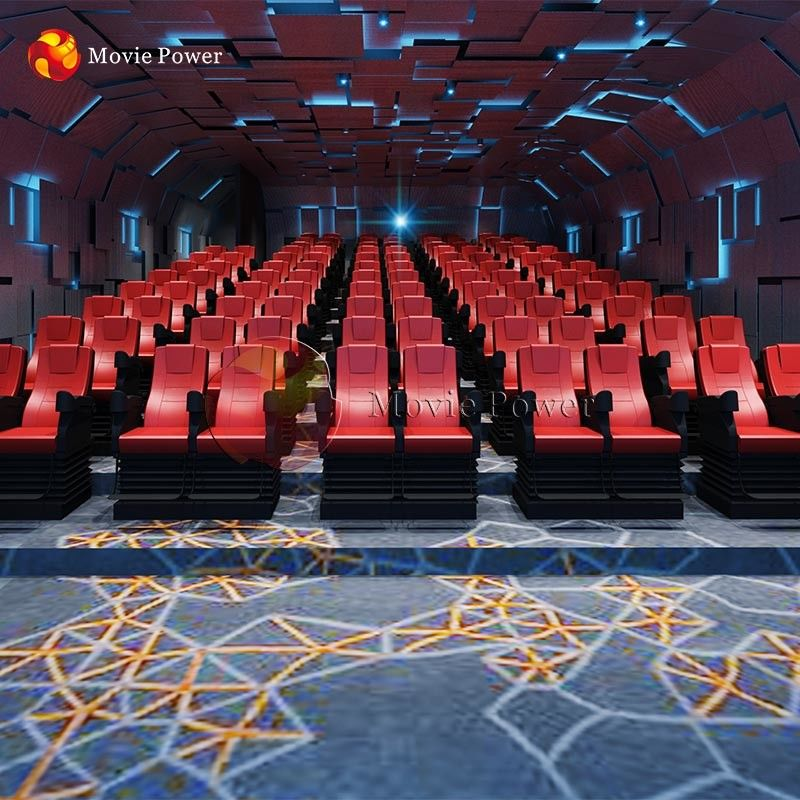 Simulador Motion Chairs 100 Pieces 4D Cinema Equipment